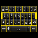 Black and Yellow Keyboard Skin icon