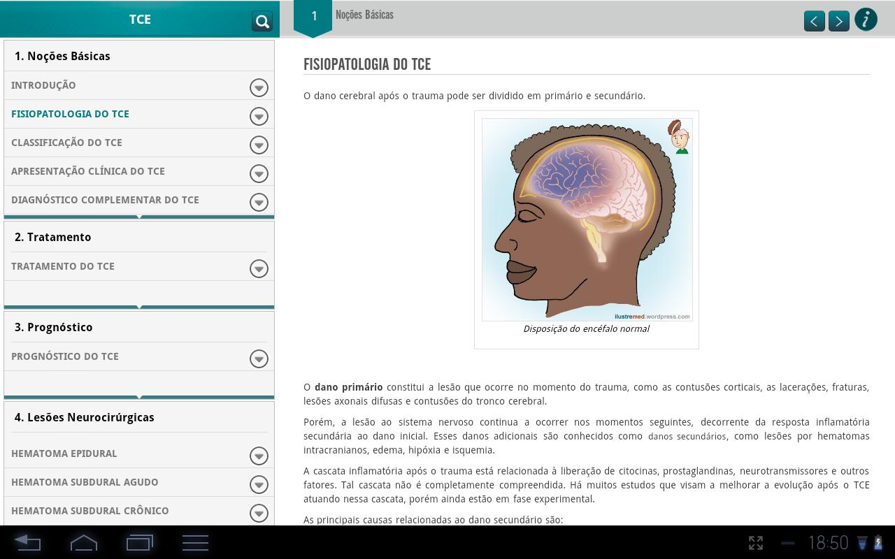 Traumatic Brain Injury (TBI) - screenshot