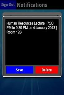 Student Diary - screenshot thumbnail