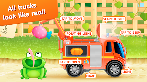 Firetrucks: rescue for kids Screenshot 13
