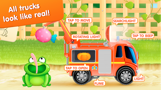 Firetrucks: rescue for kids Screenshot 13