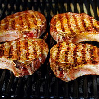 Orange & Molasses Grilled Pork Chops