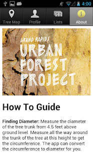 Grand Rapids Tree Map- screenshot thumbnail