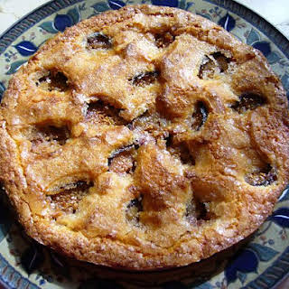 Almond Fig Cake.
