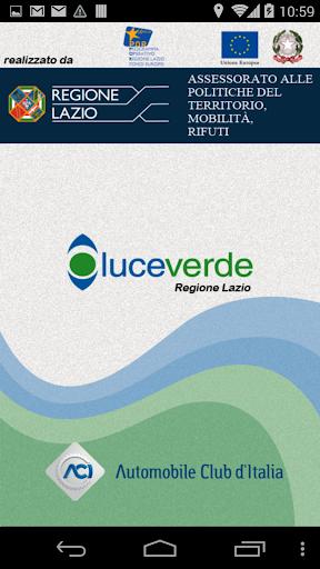 Luceverde Regione Lazio