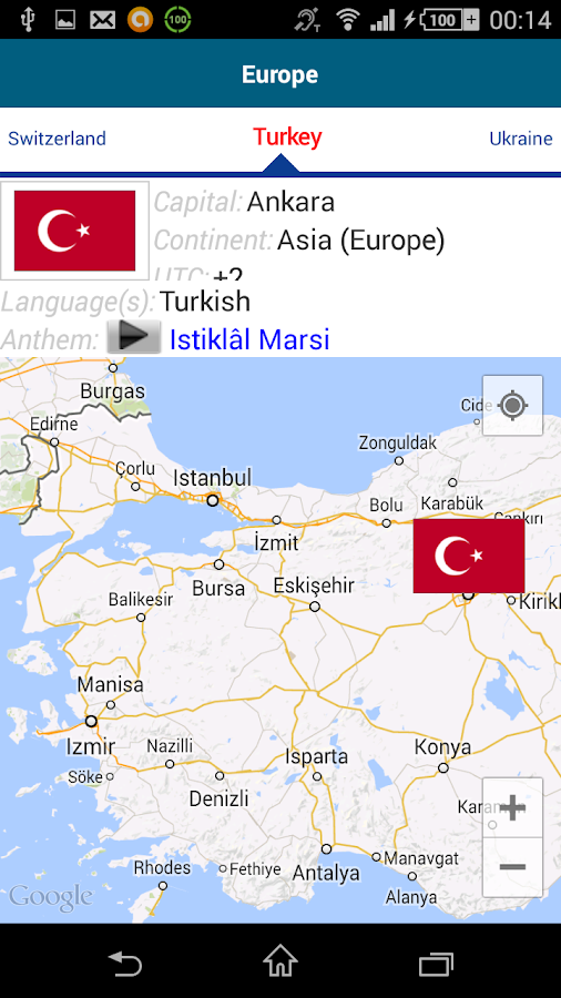 Learn Turkish - 50 languages - screenshot