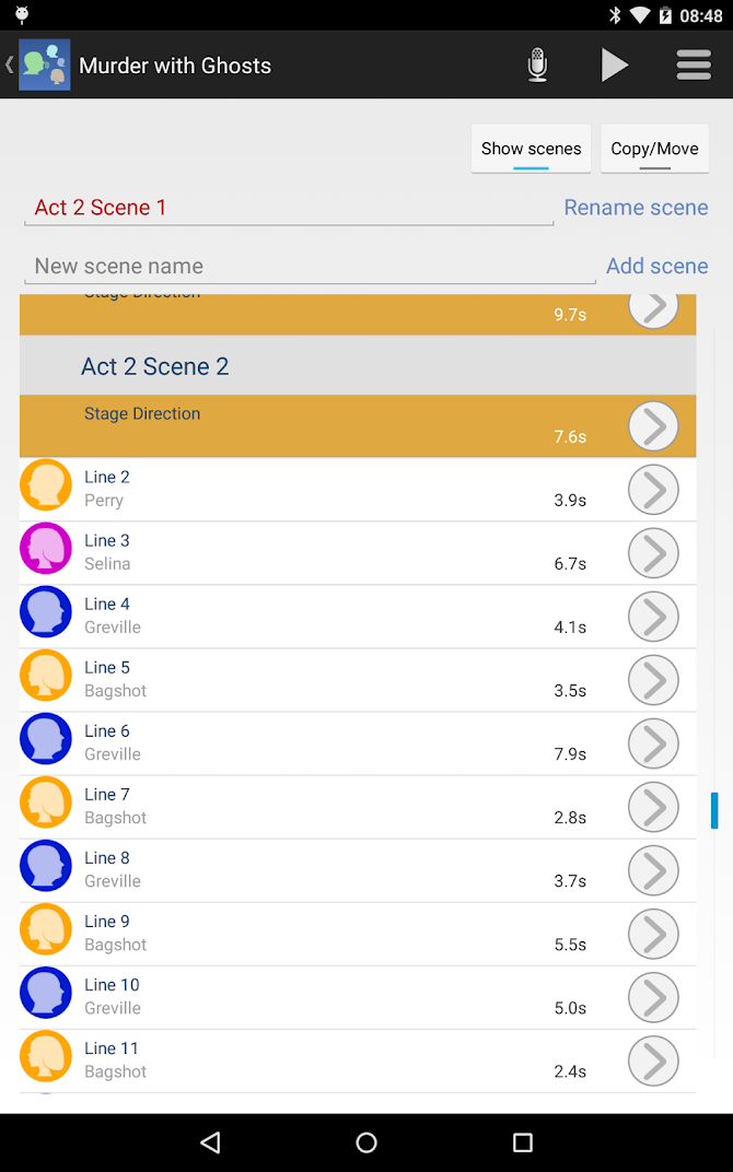 LineLearner Android 12