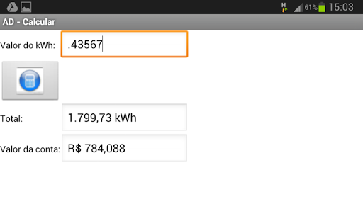 【免費工具App】AD Consumo de Energia Elétrica-APP點子
