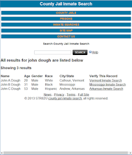 County jail inmate search original apps on google play screenshot image publicscrutiny Choice Image