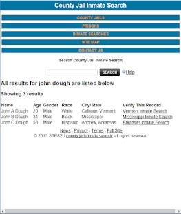 County Jail Inmate Search Original - AppRecs