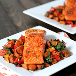 Ginger, Orange Salmon.