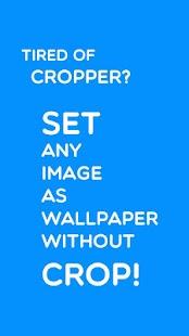 Set image without crop PRO HD