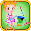 Baby Hazel Cleaning Time icon