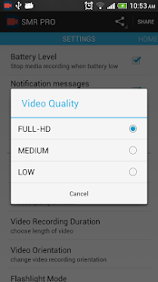 Secret Video Recorder - PRO - screenshot thumbnail