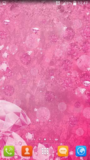 粉红钻石动态壁纸