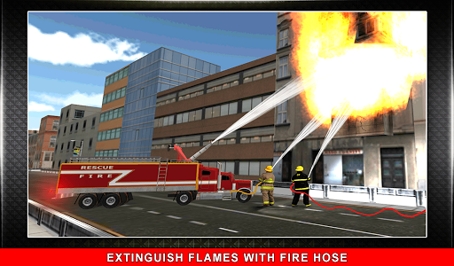911 Rescue Fire Truck 3D Sim  screenshots 12