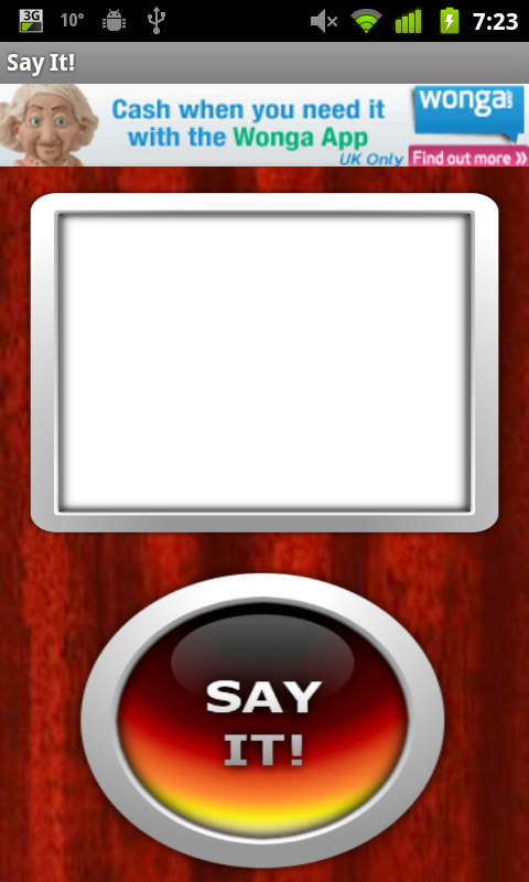 Say It! Text To Talk - screenshot