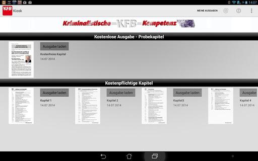 【免費書籍App】Kriminalisten KIOSK-APP點子