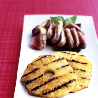 Spicy Grilled Pineapple