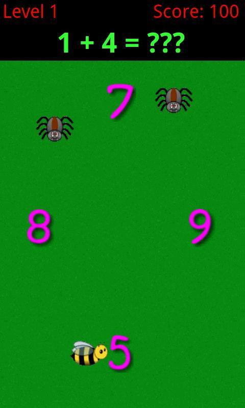 Busy Bee Math- screenshot