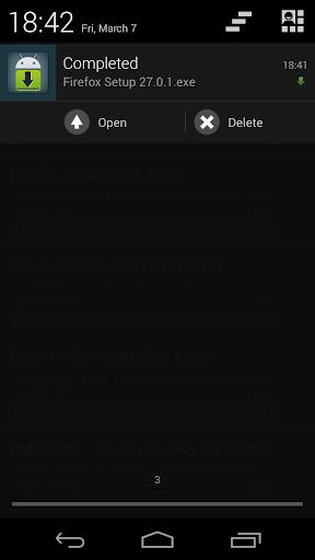 Loader Droid download manager  screenshots 5
