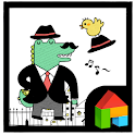 Crocodile Mr. Dada dodol theme icon