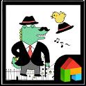 Crocodile Mr. Dada dodol theme icon