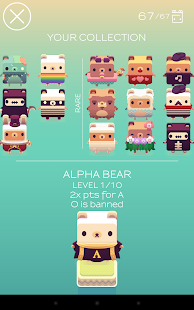 Alphabear English word game Screenshot