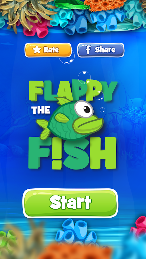 Flappy Fish- screenshot