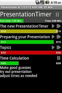 PresentationTimerFree- screenshot thumbnail