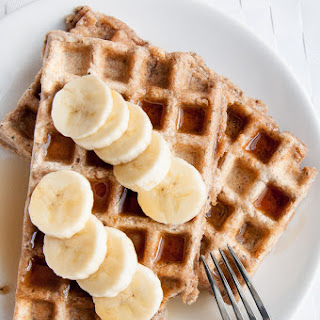 Vegan Whole Wheat Waffles.