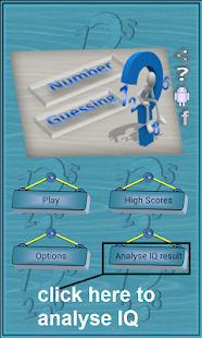 Number Guessing, IQ Testing - screenshot thumbnail