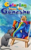 Screenshot of Coloring Book Of Ganesha