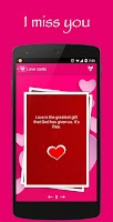 Screenshot of Messages and love quotes
