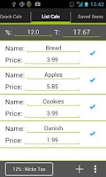 Screenshot of Sales Tax Calculator