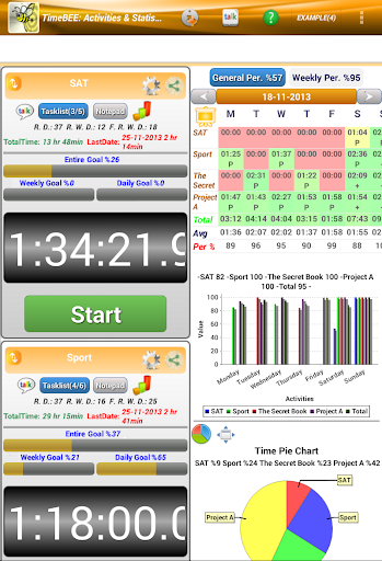 TimeBEE Goal Manager Pro