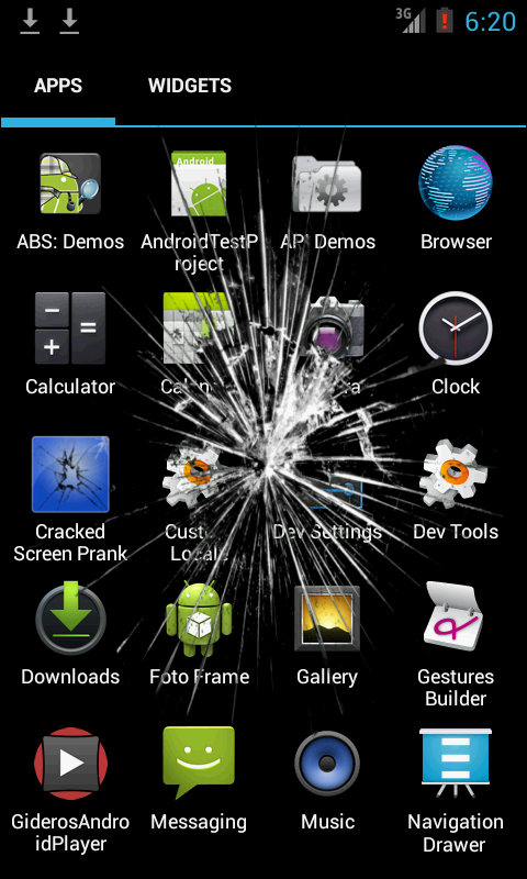 Cracked Screen Prank - screenshot