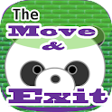 The Move & Exit logo