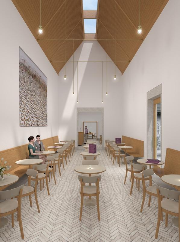 Impressie museumcafé