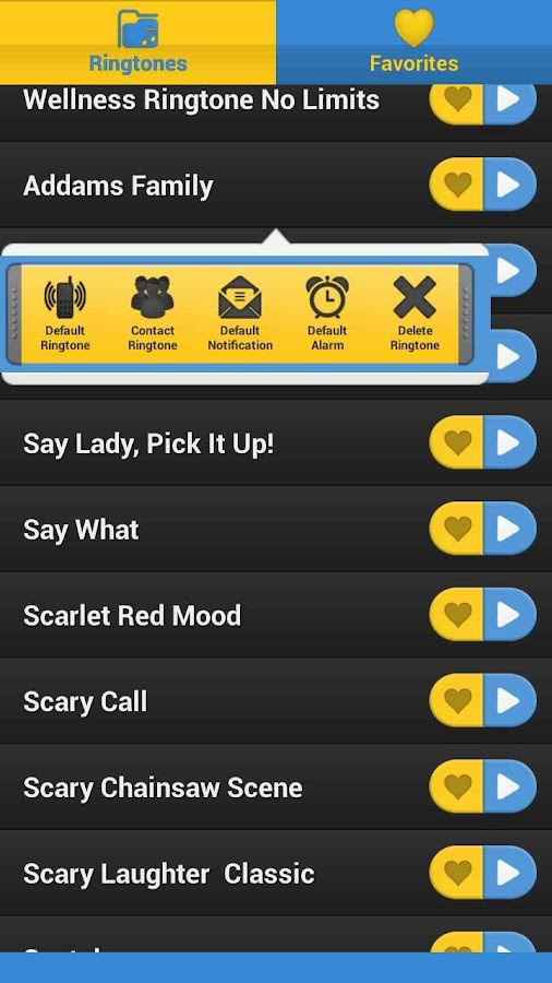 More Ringtones - screenshot