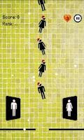 Screenshot of Toilet Time Panic : Mini game