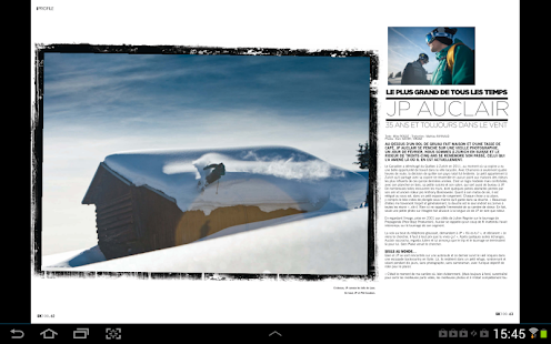 Skieur Magazine- screenshot thumbnail