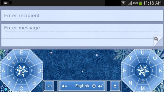 Ice World Keyboard- screenshot thumbnail