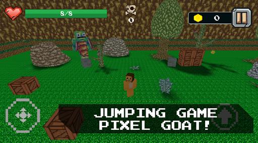 Pixel Goat - Crazy Animal