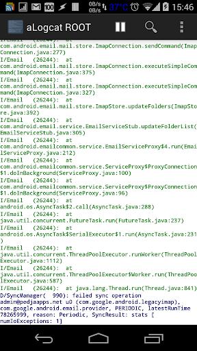 [ROOT] aLogcat 1.0.3 screenshots 1