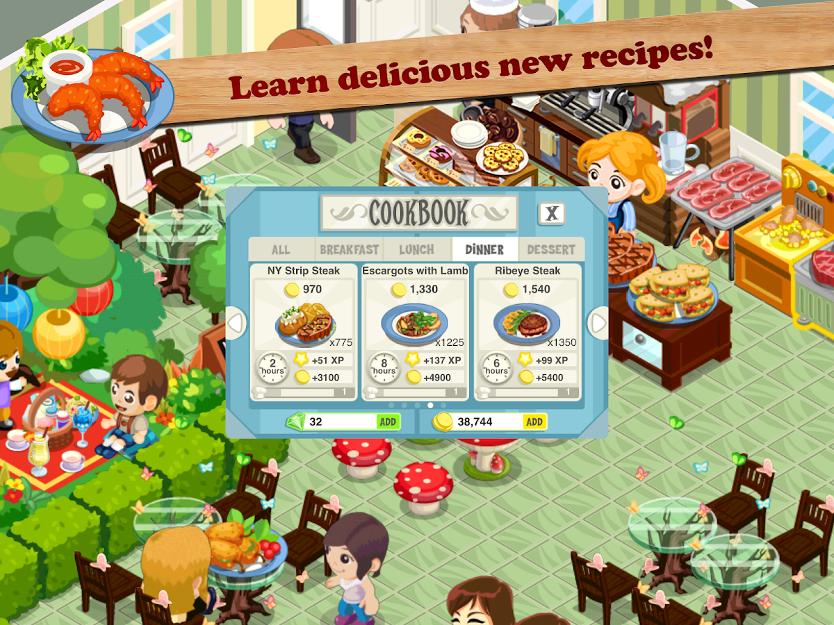 Restaurant story bagel cafe android apps on google play