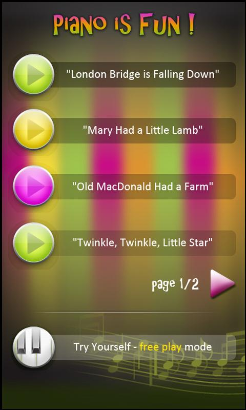Kids Musical Challenges HD- screenshot