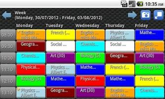 Screenshot of Easy School Planner