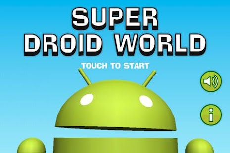 Super Droid World - screenshot thumbnail