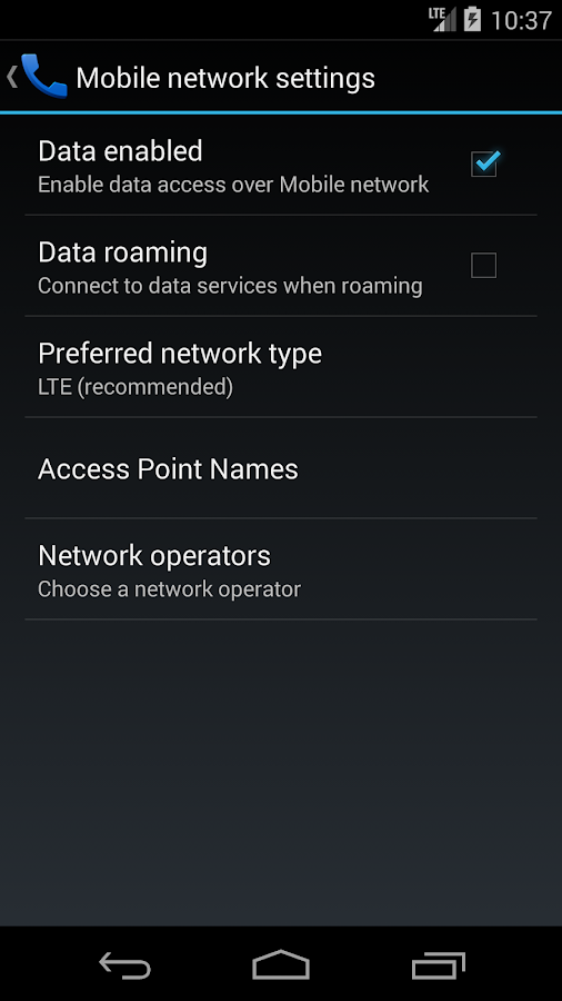 4G Toggle Expert- screenshot